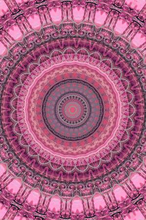 lila rosa patr�n circular photo
