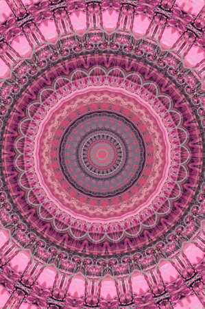 lilac pink circular pattern Stock Photo - 17976008