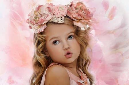 bright eyed: Bright Eyed Little Girl