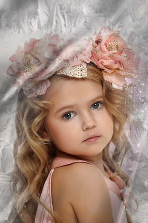 Bright Eyed Little Girl photo