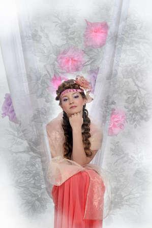 Beautiful girl Stock Photo - 17976079