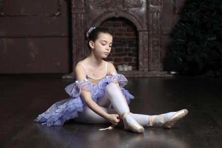 pies bailando: bailarina Foto de archivo
