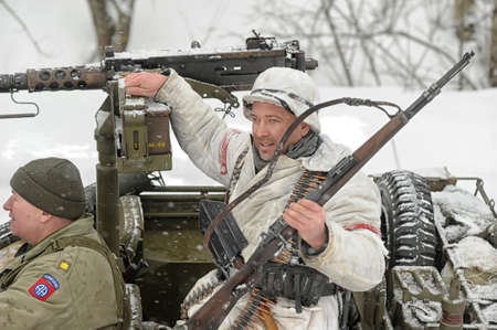 solders: Military historical reconstruction of World War II