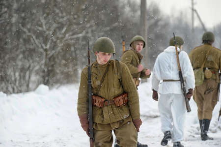 dismounted: Military historical reconstruction of World War II