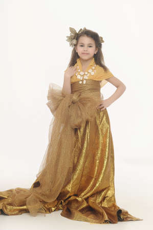 blow up: girl in gold