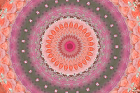 Pink Kaleidoscope Ornament photo