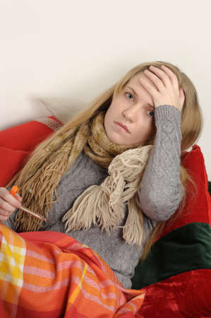 sick girl Stock Photo - 18215520