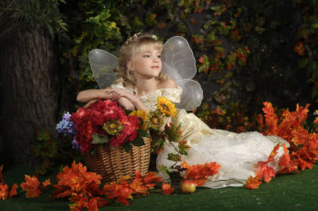 butterfly  angel: young fairy