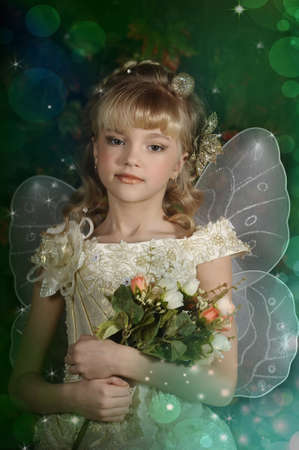 young fairy Stock Photo - 18823851
