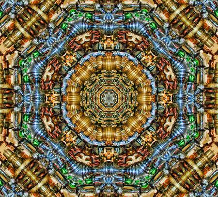 Oriental pattern  photo