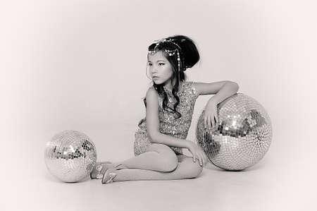 silver girl Stock Photo - 18971437