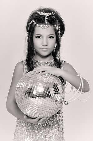 silver girl Stock Photo - 18971429