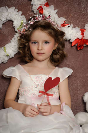 charming little girl photo