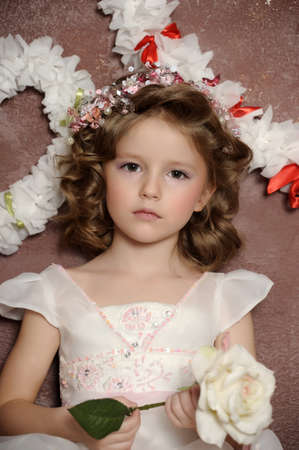 sexual health: charming little girl