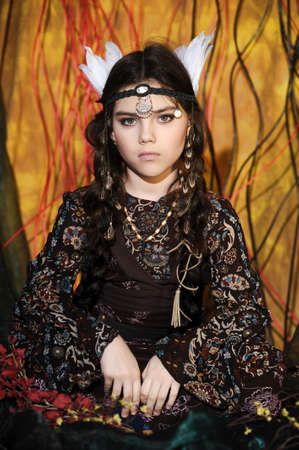 mephoto: American Indian Girl