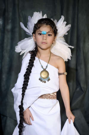 American Indian Girl Stock Photo - 18999058