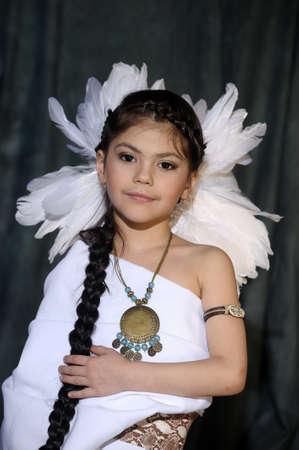 Chica Indio Americano