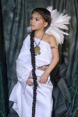 mephoto: American Indian Girl