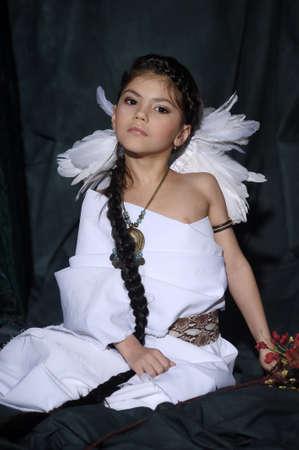American Indian Girl Stock Photo - 18999042