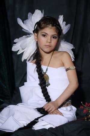 American Indian Girl Stock Photo - 18999043
