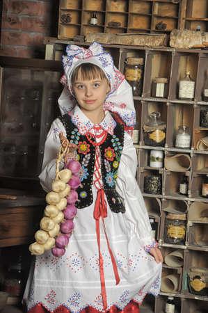 kalabaka: Girl in Polish national costume