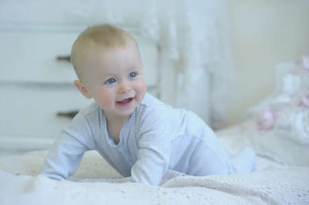 adorable baby Banque d'images