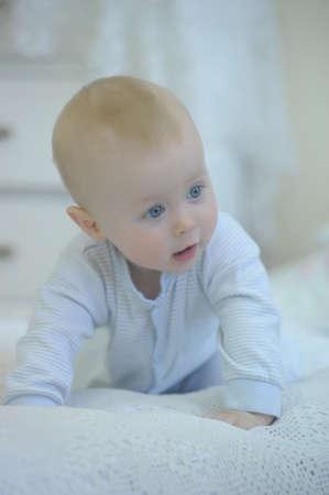 schattige baby Stockfoto
