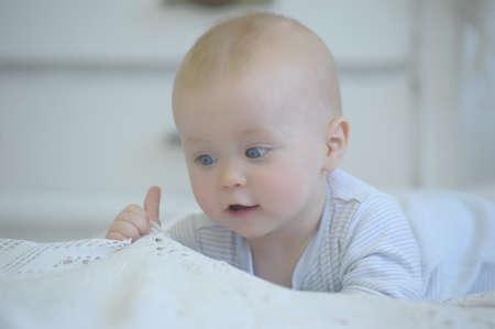 adorable baby Stock Photo - 19338117