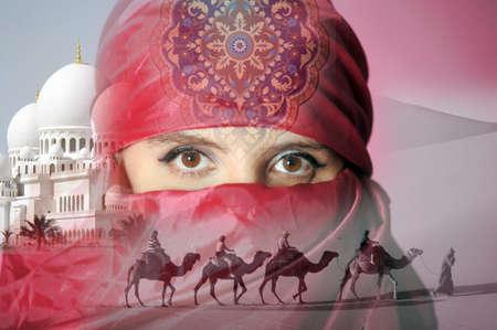 アラブの女性 写真素材