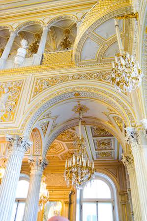 hermitage: Hermitage in Saint Petersburg, Russia, Europe Editorial