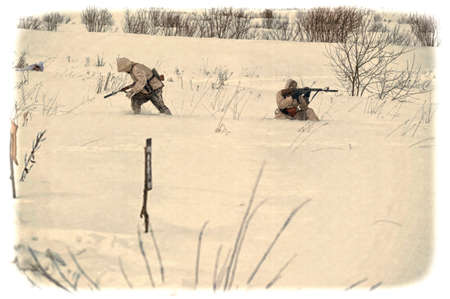 voronezh: Reconstruction of the Second World War, the Allied forces, Winter 1941
