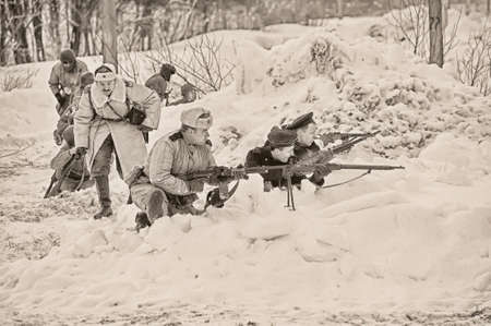 Reconstruction of the Second World War, the Allied forces, Winter 1941