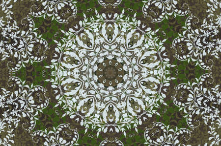 ornament carpet photo