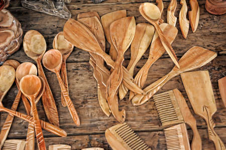 wooden cutlery photo
