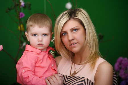Happy mother with a child Stock Photo - 21741763
