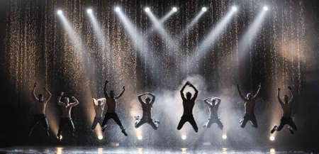1 and group:  St  Petersburg theater dance  Temptation   Theatrical show  Between you and me  Editorial