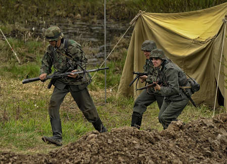 nazis: The scenario of military and historical reconstruction  Last fight  is devoted to battles on May 12-13, 1945 with the German parts which are breaking through from Prague towards allied forces