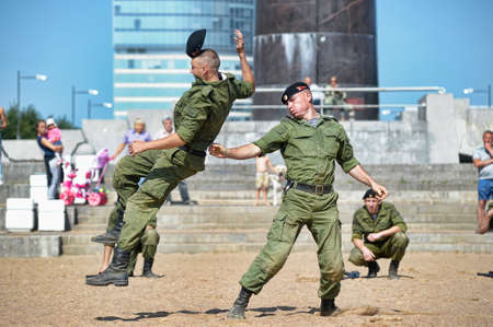 demonstration performance Marine Corps Russia
