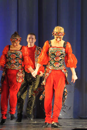 folk dance show russian