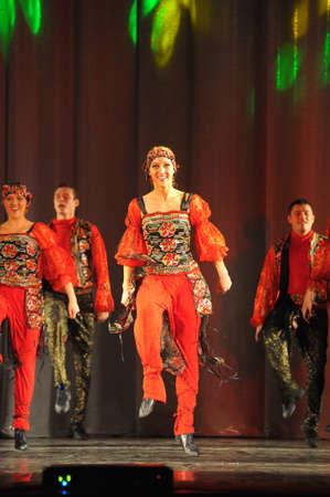 show folk: folk dance show russian