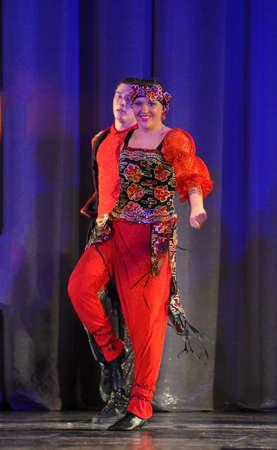 show folk: Folk dance show
