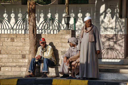 lybia: On the streets of Hurghada, Egypt