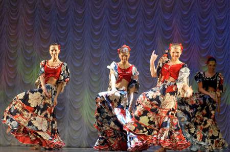 rythm: gypsy Dance Editorial