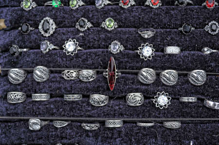 silver rings for sale photo