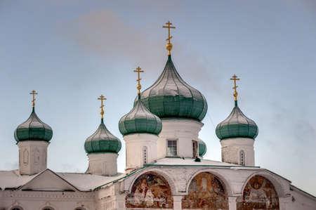 The Holy Trinity Alexander Svirsky Monastery in winter Stock Photo - 21688028