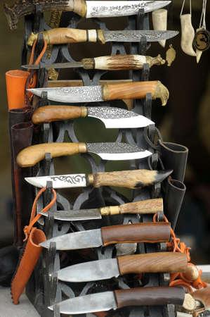 slavs: Handmade knives offered for sale