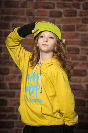 Hip-hop dancer photo