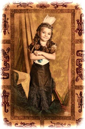 American Indian Girl photo