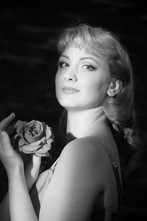 Pretty Woman Portrait photo