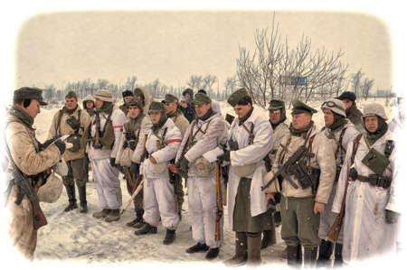 dismounted: Reconstruction of the Second World War